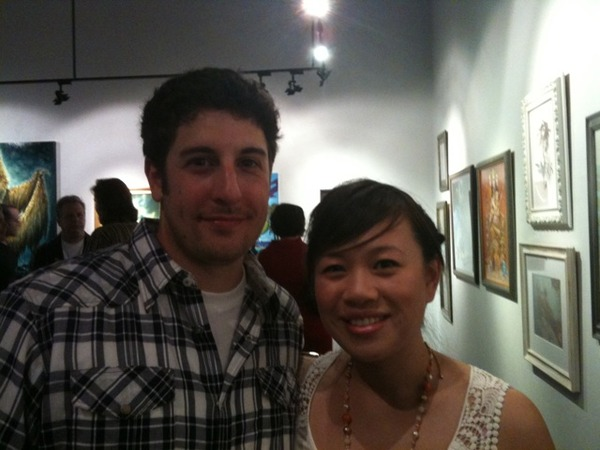 Jason Biggs & Fan
