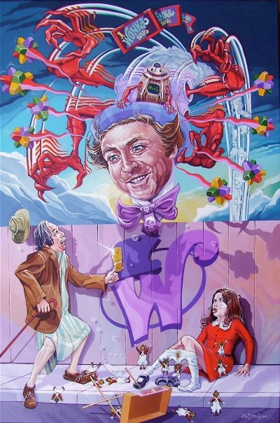 Dave MacDowell's creative remix of Robert Williams' famous 'Appetite for Destruction.'