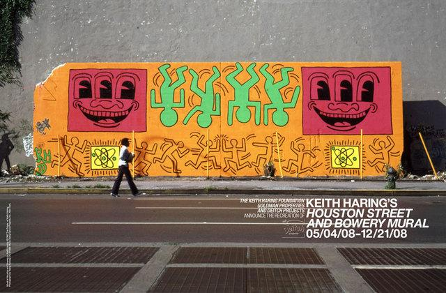 Previous Keith Haring Mural