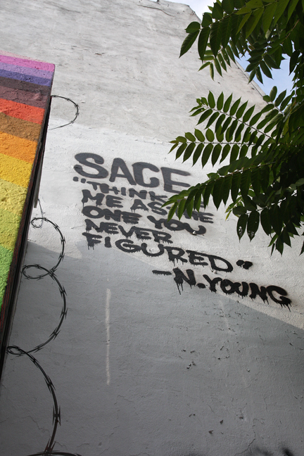 Mural Quote