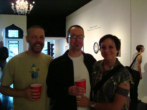 Robert Hardgrave with Chris Crites and wife Natania