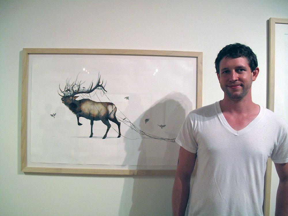 Artist Ryan McLennan