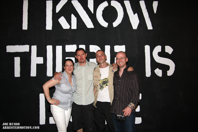 Garrison & Allison Buxton, Armsrock, Chris Stain