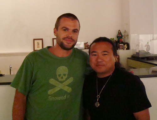 Mike Leavitt and Travis