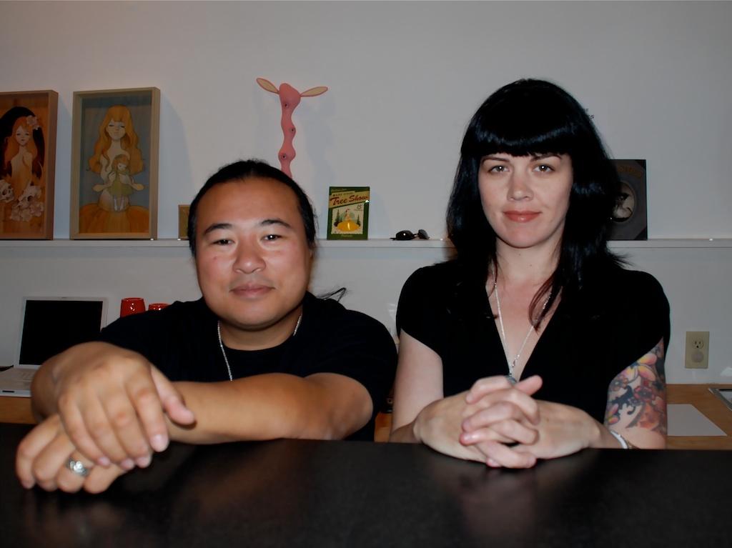 Travis with Kirsten Anderson