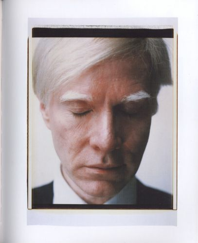 Andy Warhol Polaroid Self Portrait