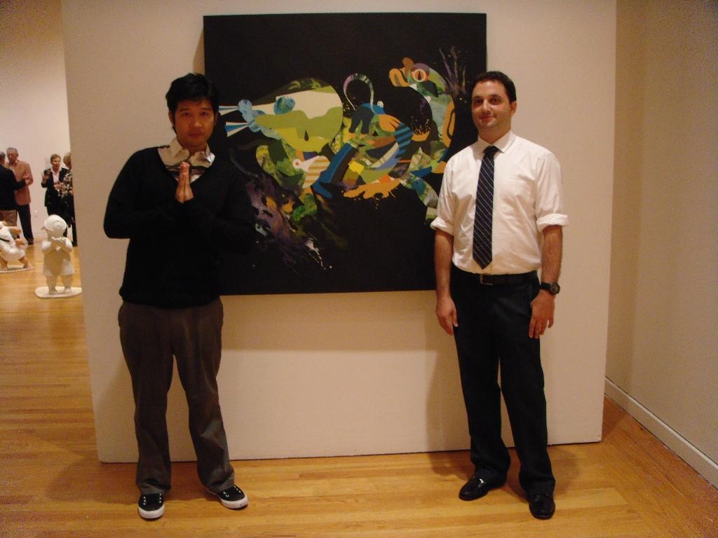 Tomokazu (Matsu) Matsuyama & Joshua Liner