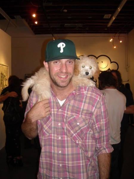 Jeremy from Subliminal and his awesome pooch were in the house