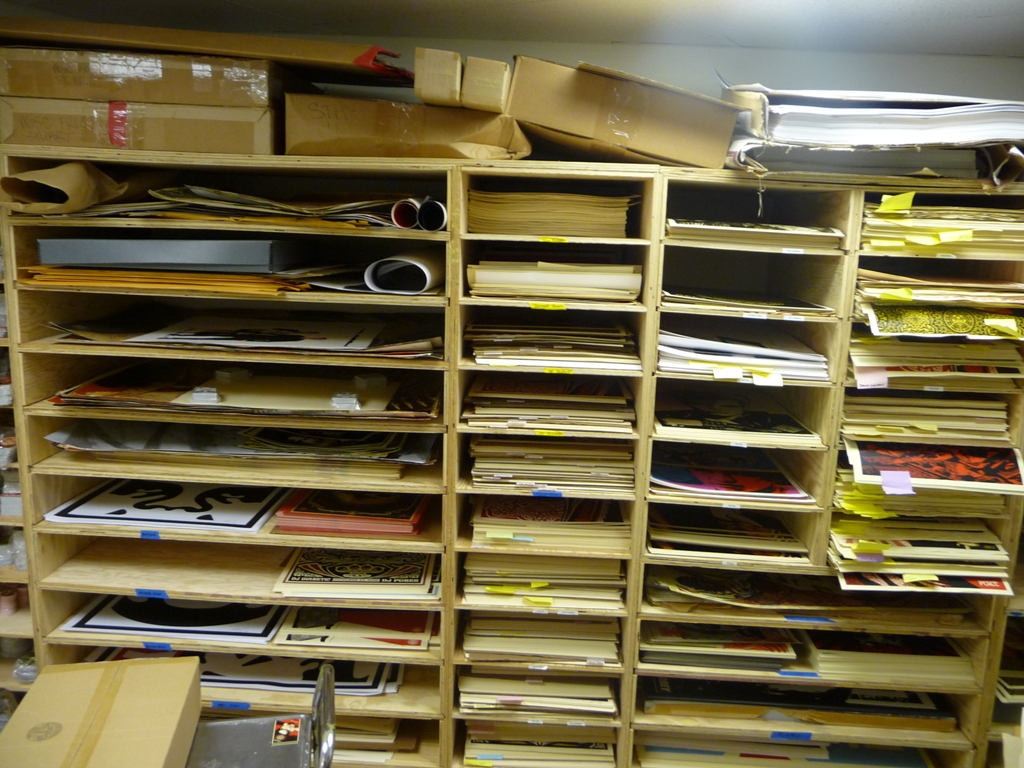 Inside the Obey Print Vault