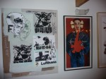 Faile Canvas and Kaws Ad Disruption