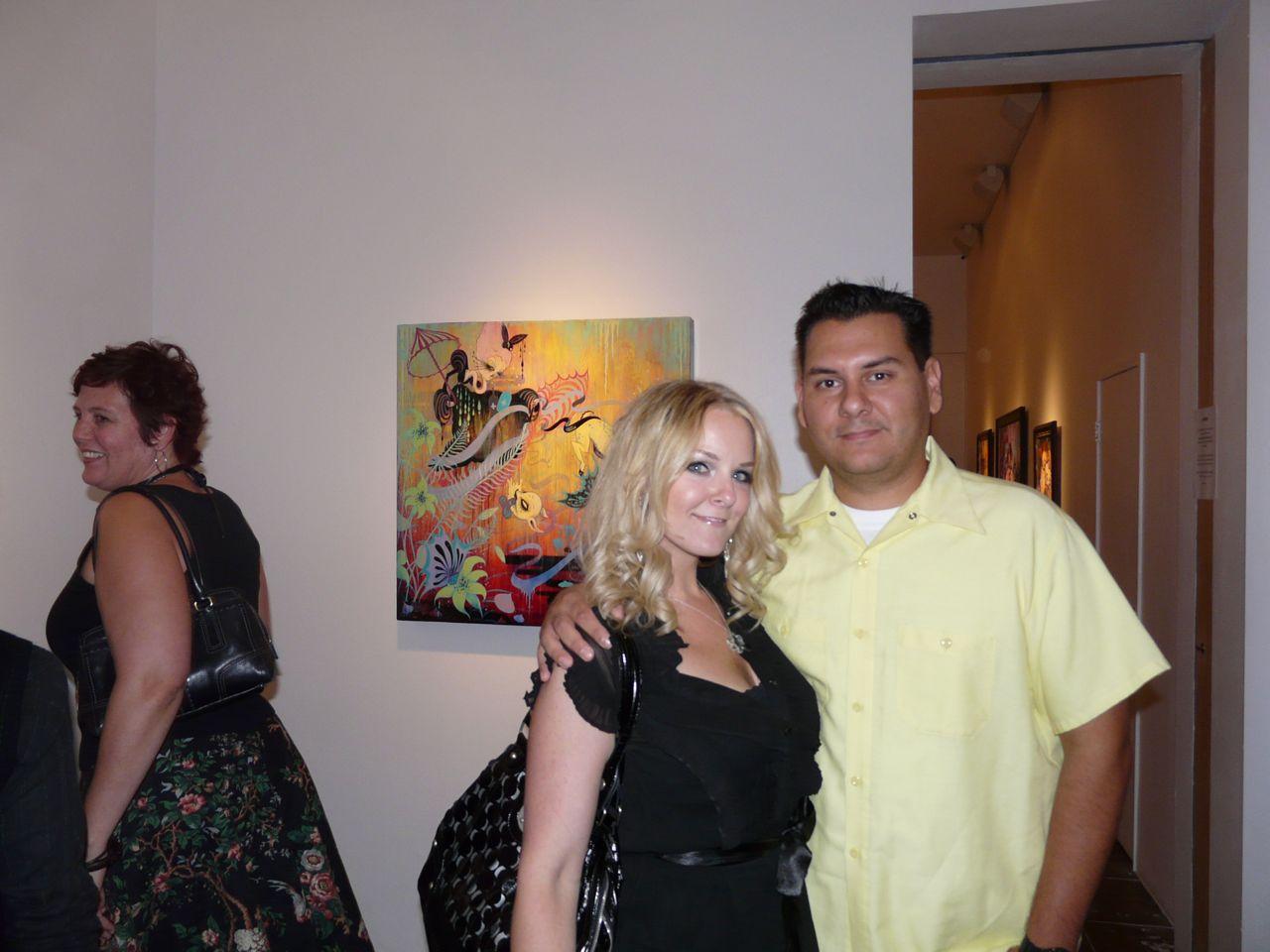 Brandi Milne & guest