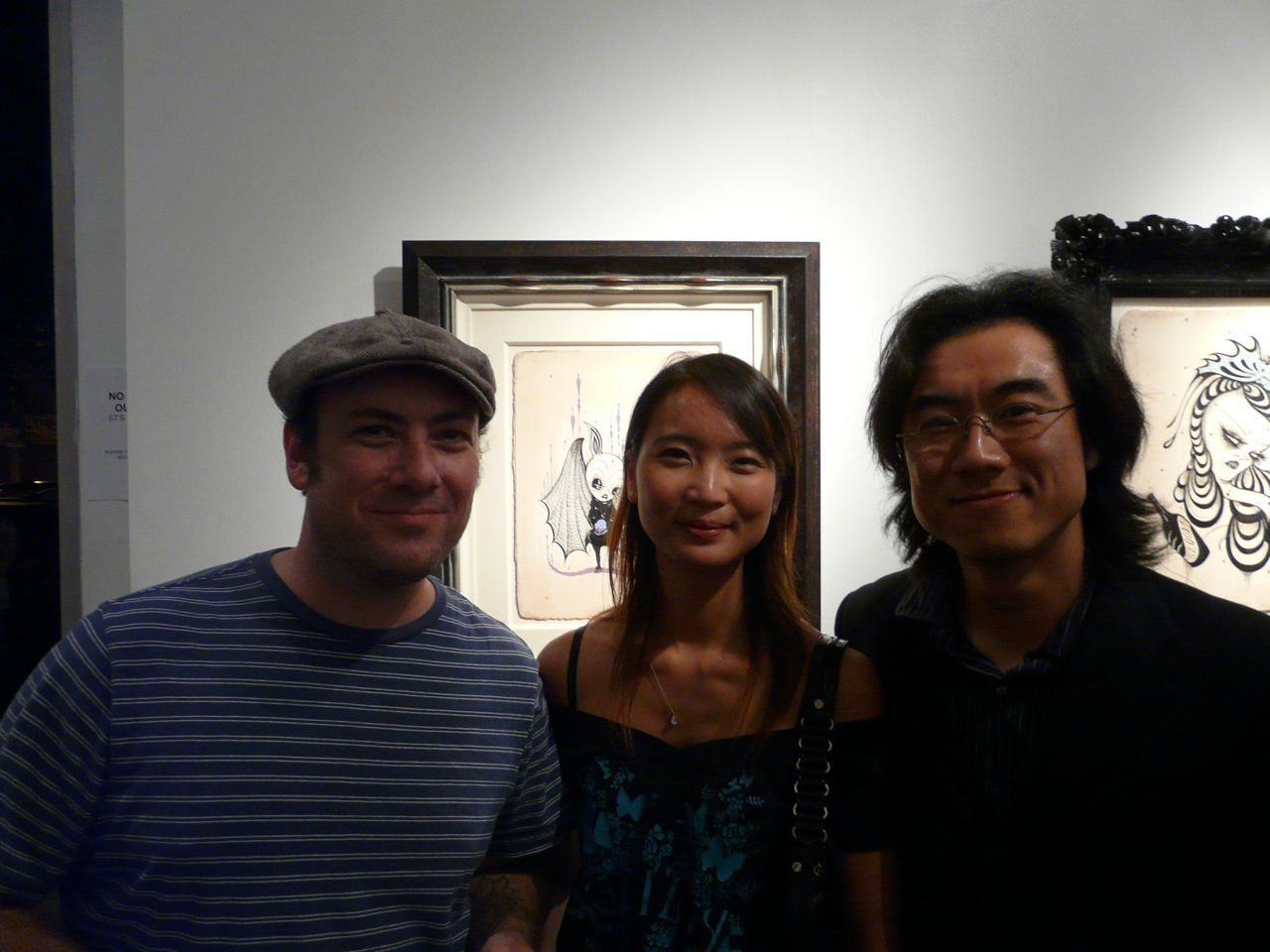 Jeff Soto, Esther, Roman Cho