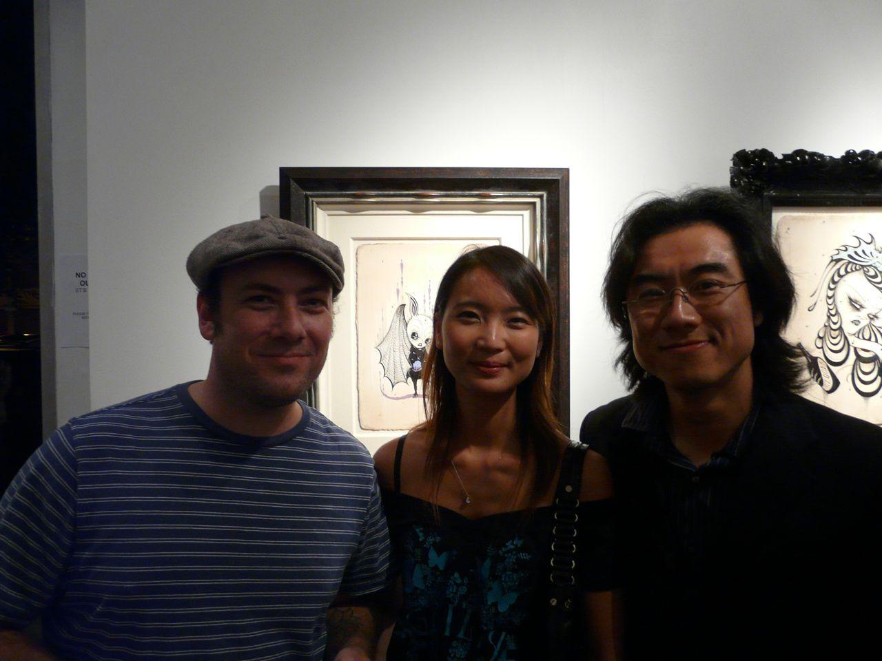 Jeff Soto, Esther, Roman Cho