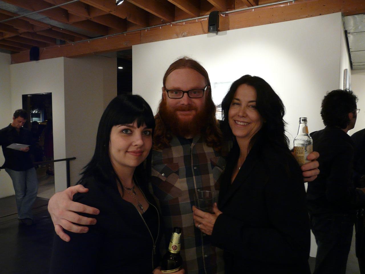 Mike Stilkey and ladies