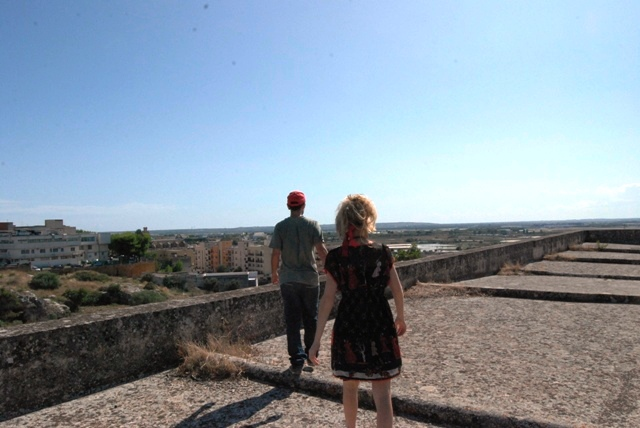 The path eventually led us onto the rooftop of the monastery. Nice view!view from the