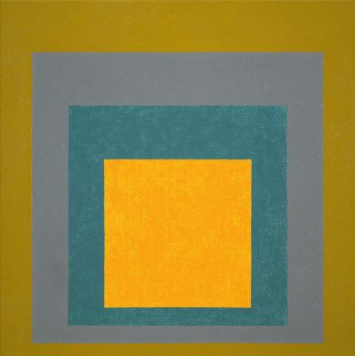 Josef Albers – Study for Homage to the Square: Nacre – Hirshhorn Museum