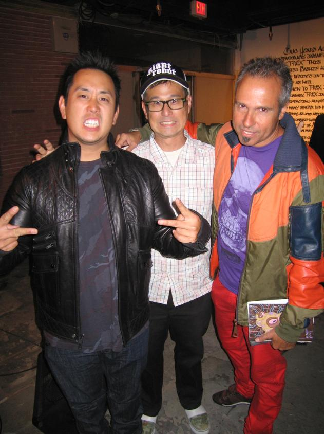 Joe Hahn, Eric Nakamura, Gary Baseman
