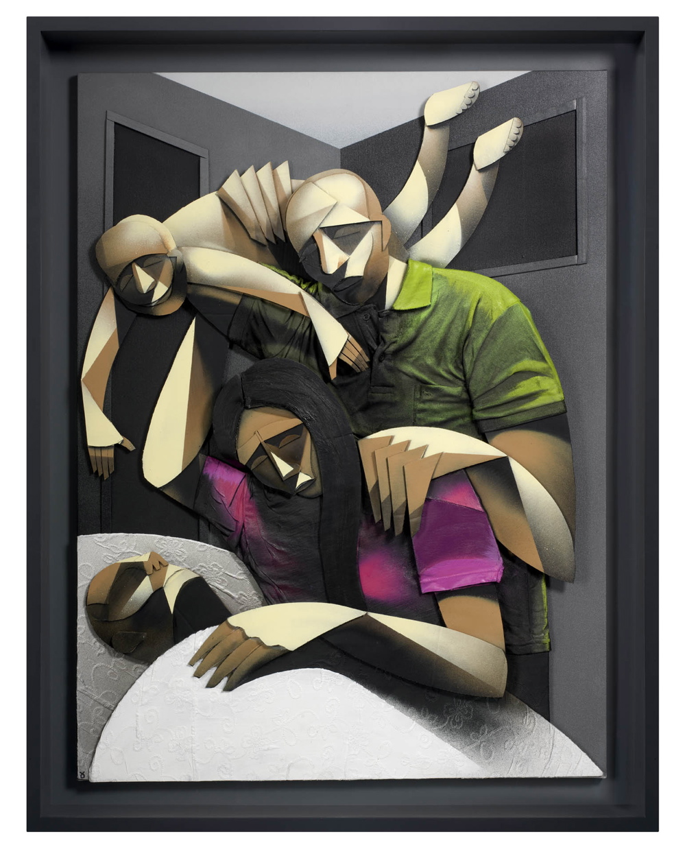Adam Neate - Family Circle.  Photo via Elms Lester.