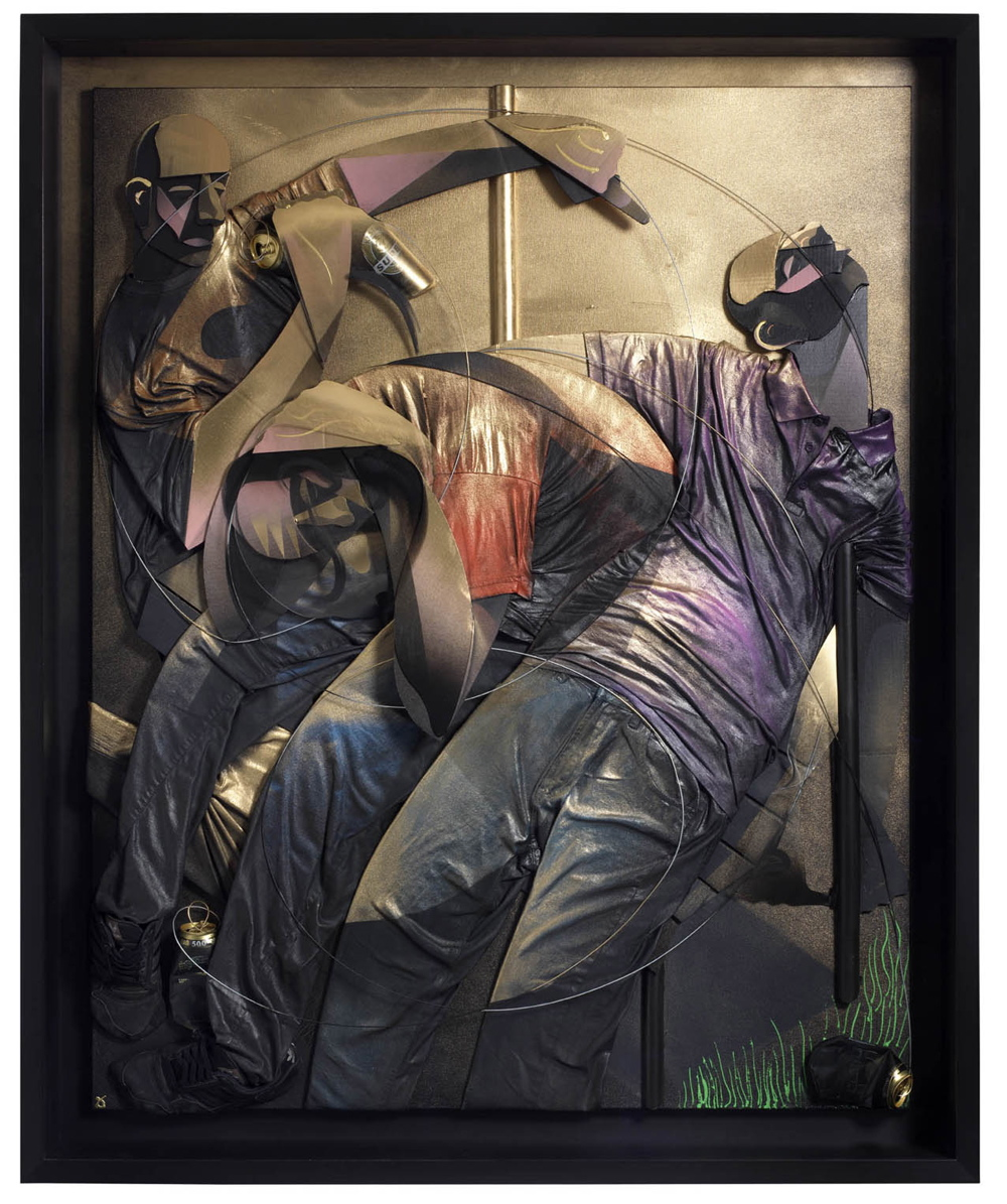 Adam Neate - The Three Stages.  Photo via Elms Lester.