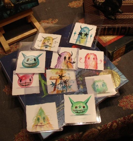 Jeff Soto watercolors