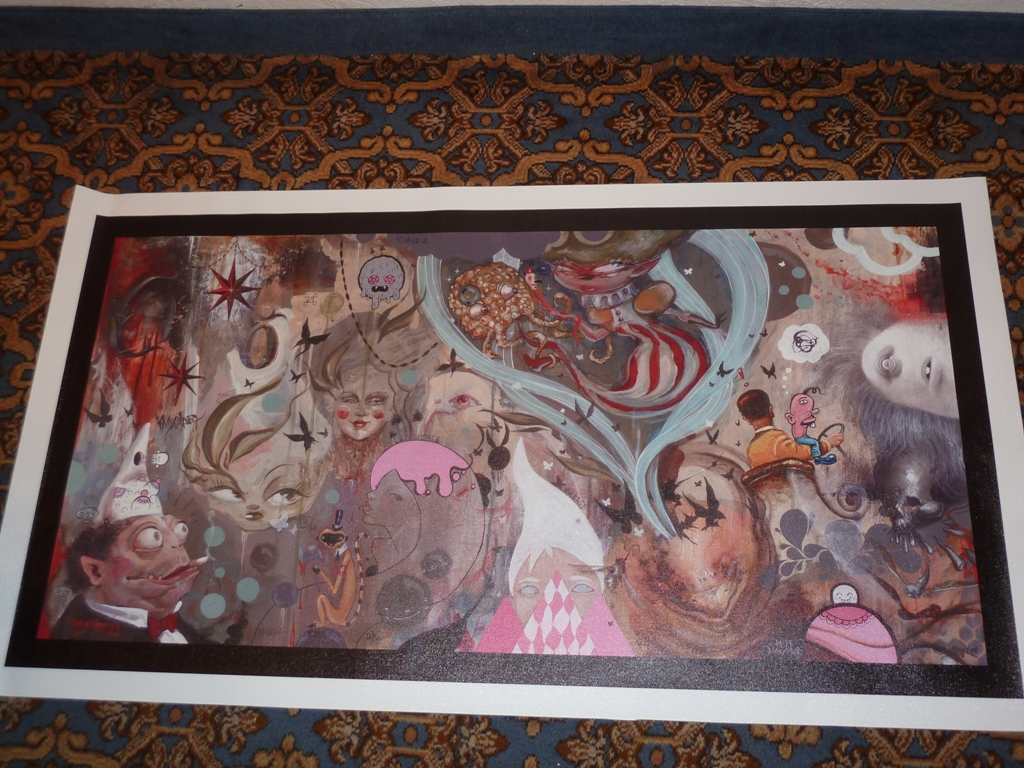 The final Giclee by Harvest Production
