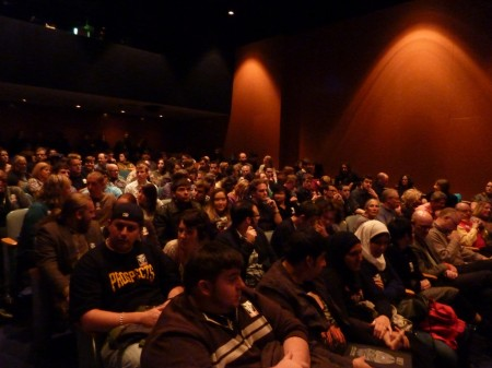 Standing room only if you got were lucky enough to get in