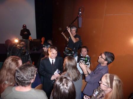 Always a media circus around Shepard