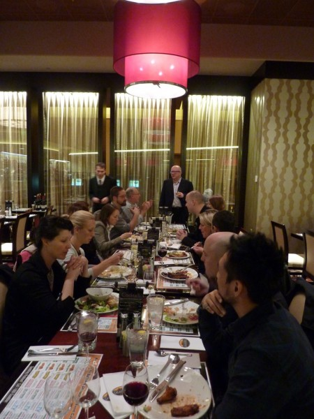 Warhol Museum hosted an awesome dinner at a CASINO!