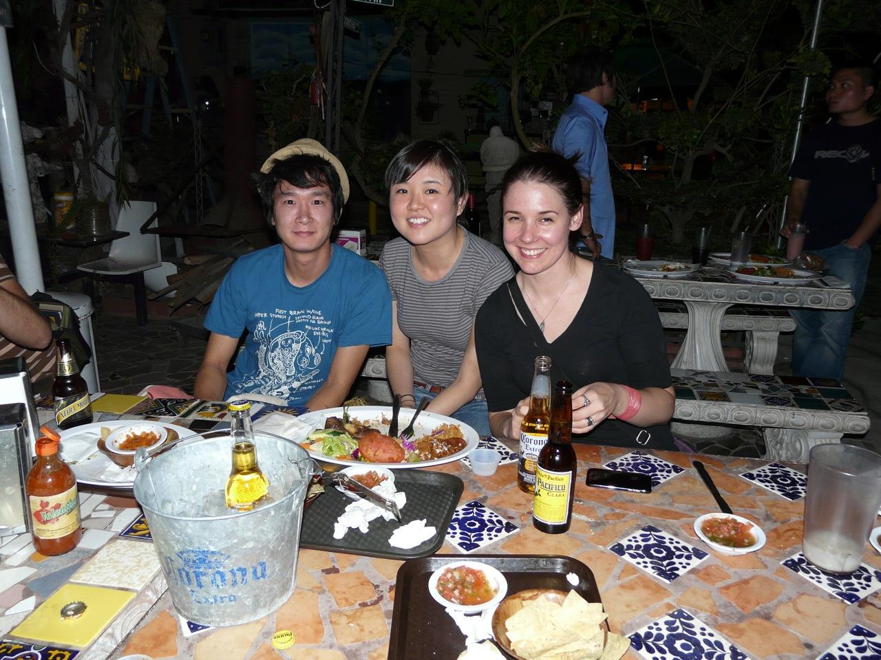 Yoskay Yamamoto, Audrey Kawasaki, and Leah