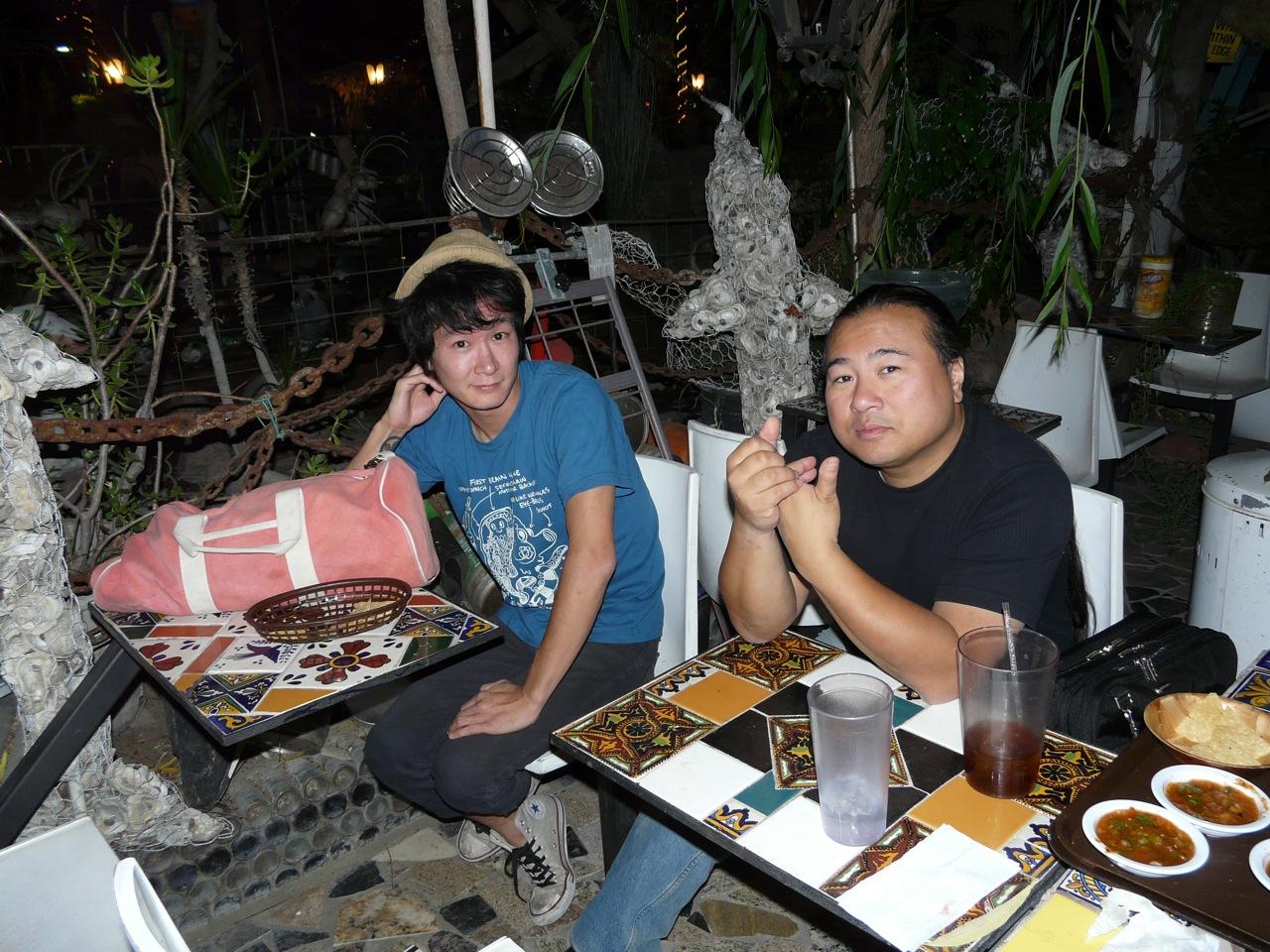 Yoskay Yamamoto & Travis Louie