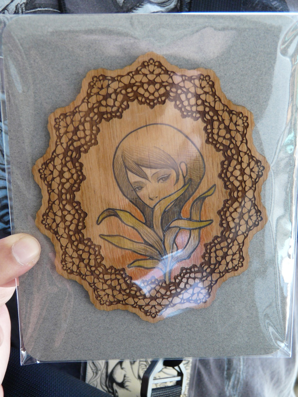 Original piece from Audrey Kawasaki
