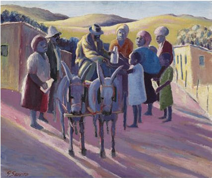"Gerard Sekoto's ""The Milkman"""