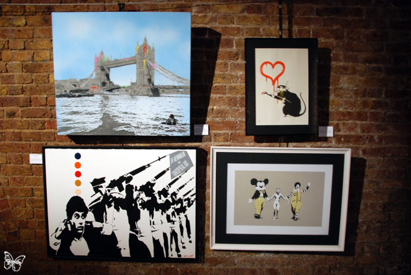 Nick Walker, Banksy, Blek le Rat