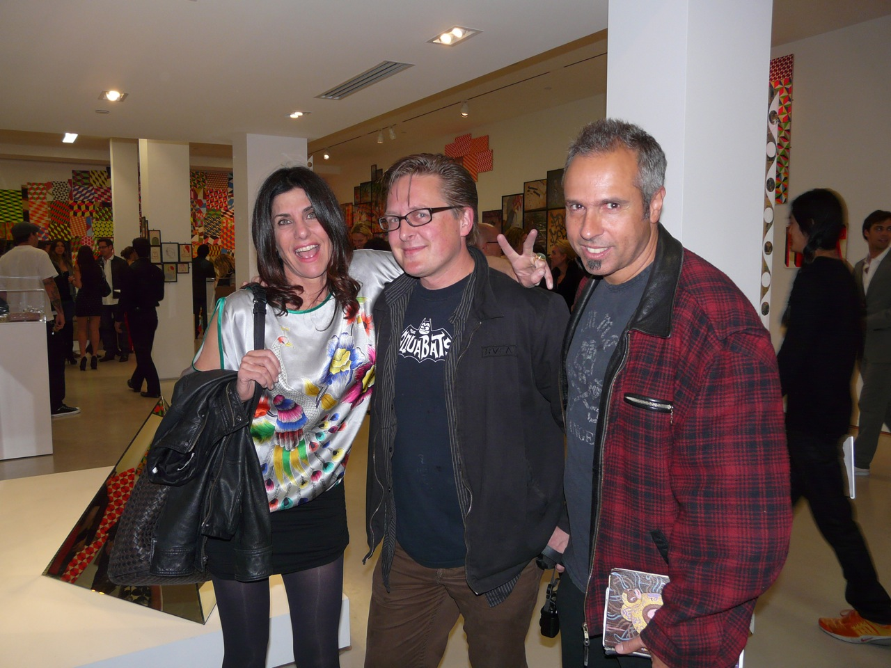 Marsea Goldberg, Adam Wallacavage, Gary Baseman