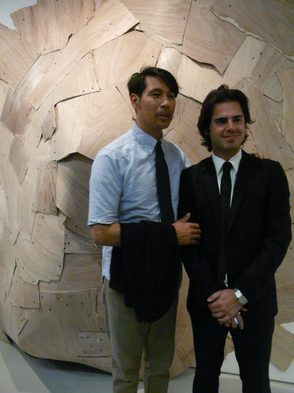Barry McGee and Jared Najjar (co-owner of Prism)