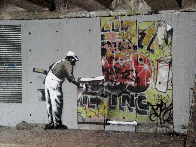 Banksy art explained