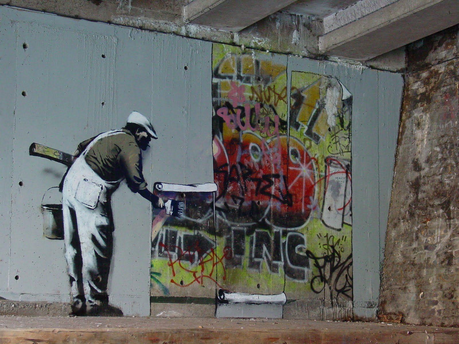 Banksy's Piece