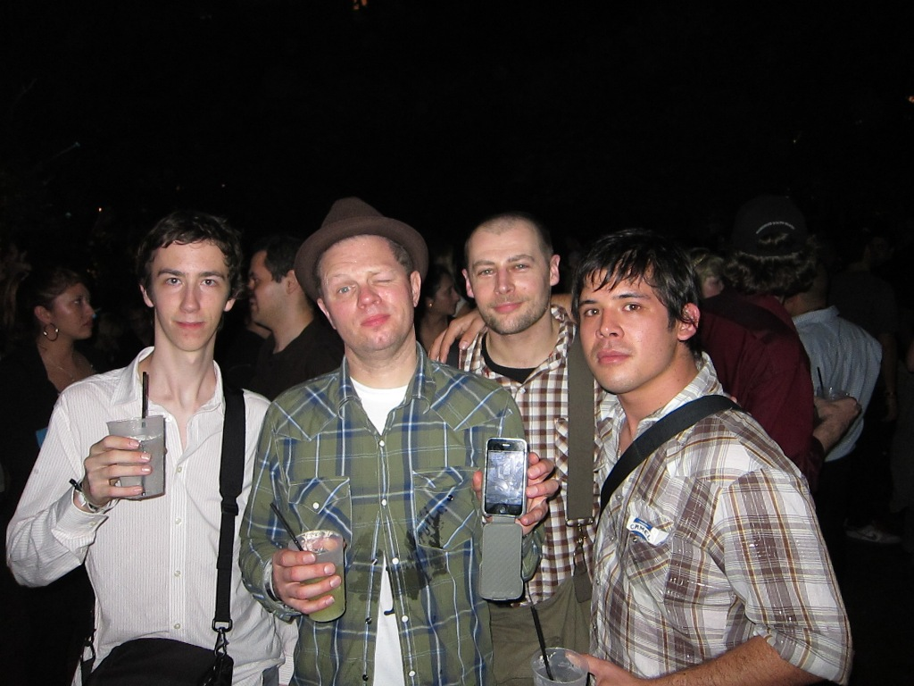 RJ, Nick Walker, Sven, Ken