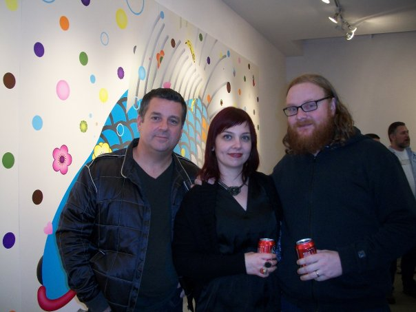 Mark Dean Veca, Elizabeth Johnston, Mike Stilkey
