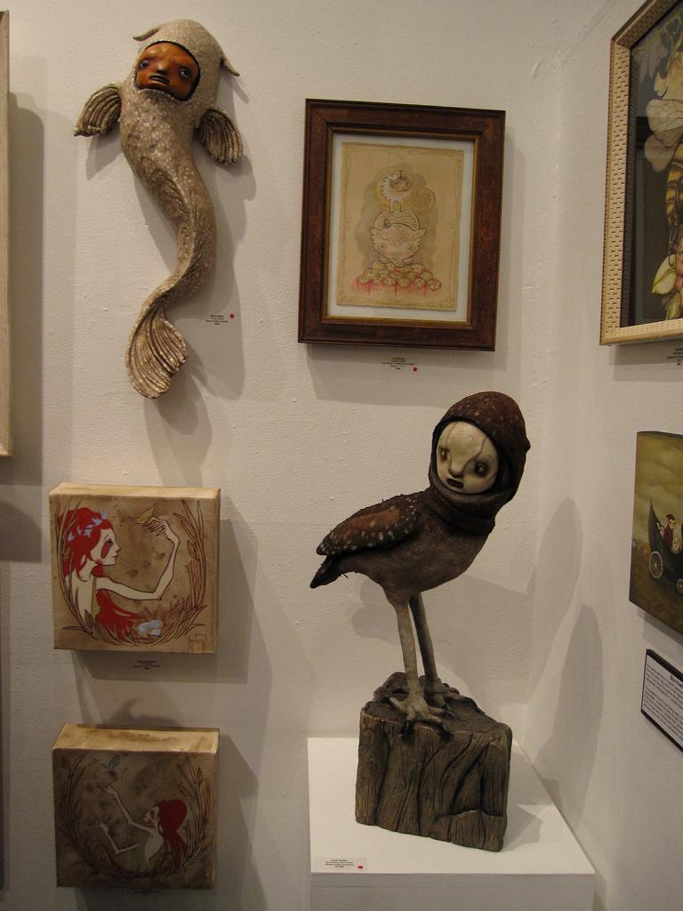 Some Scott Radke sculputres
