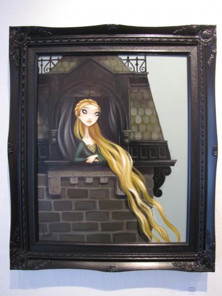 """Rapunzel - acrylic on canvas - 16"""" x 20"""""""