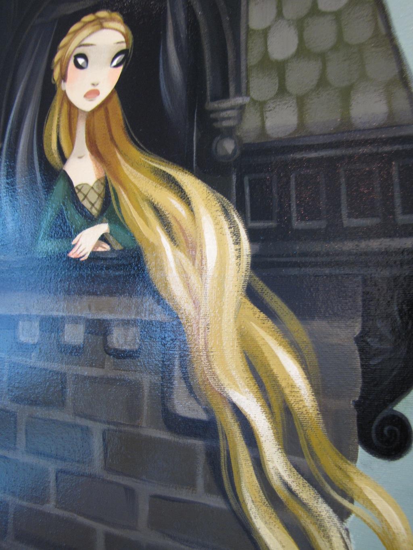 Rapunzel detail