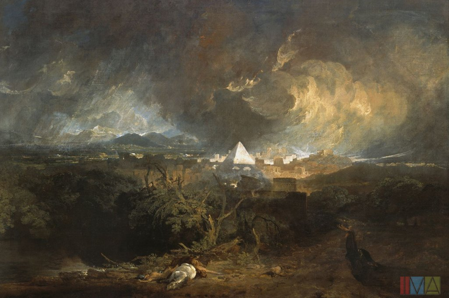 J.M.W. Turner - The Fifth Plague of Egypt