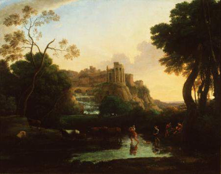 Claude Lorrain - Ideal View of Tivoli