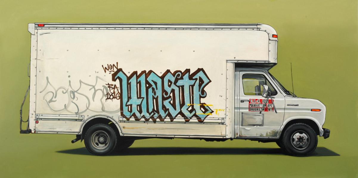 Kevin Cyr, Carroll, 30 x 60 inch, Oil on panel, 2009.