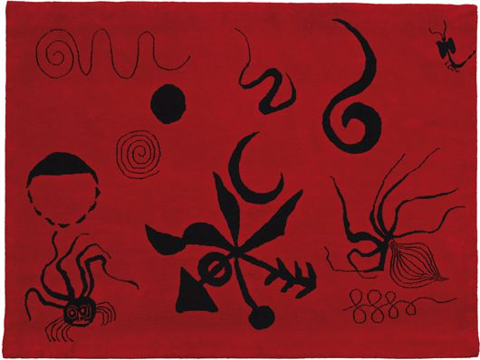 Alexander Calder, Sea Life (1972), Woven tapestry. 153 x 203.5 cm (60 1/4 X 80 in). Est. £5,000-7,000