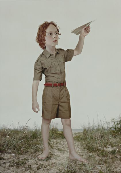 Loretta Lux, The Paper Airplane (2004), C-print. 31.8 x 22.5 cm (12 1/2 x 8 7/8 in). £7,000-9,000
