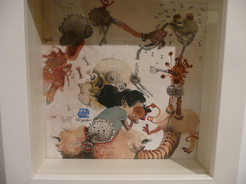 One of the new smaller works in the show...
