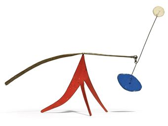 painted sheet metal and wire - 7 5/8 X 10 7/8 X 3¾in (18.6 X 27.7 X 8.7cm) - est. £80,000 - £120,000
