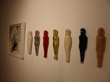 Mummified Barbies by E.V. Day
